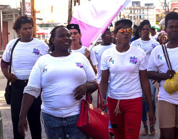 Guyana Trans United leads March for Transgender Visibility - 31st March, 2019 , Georgetown, Guyana