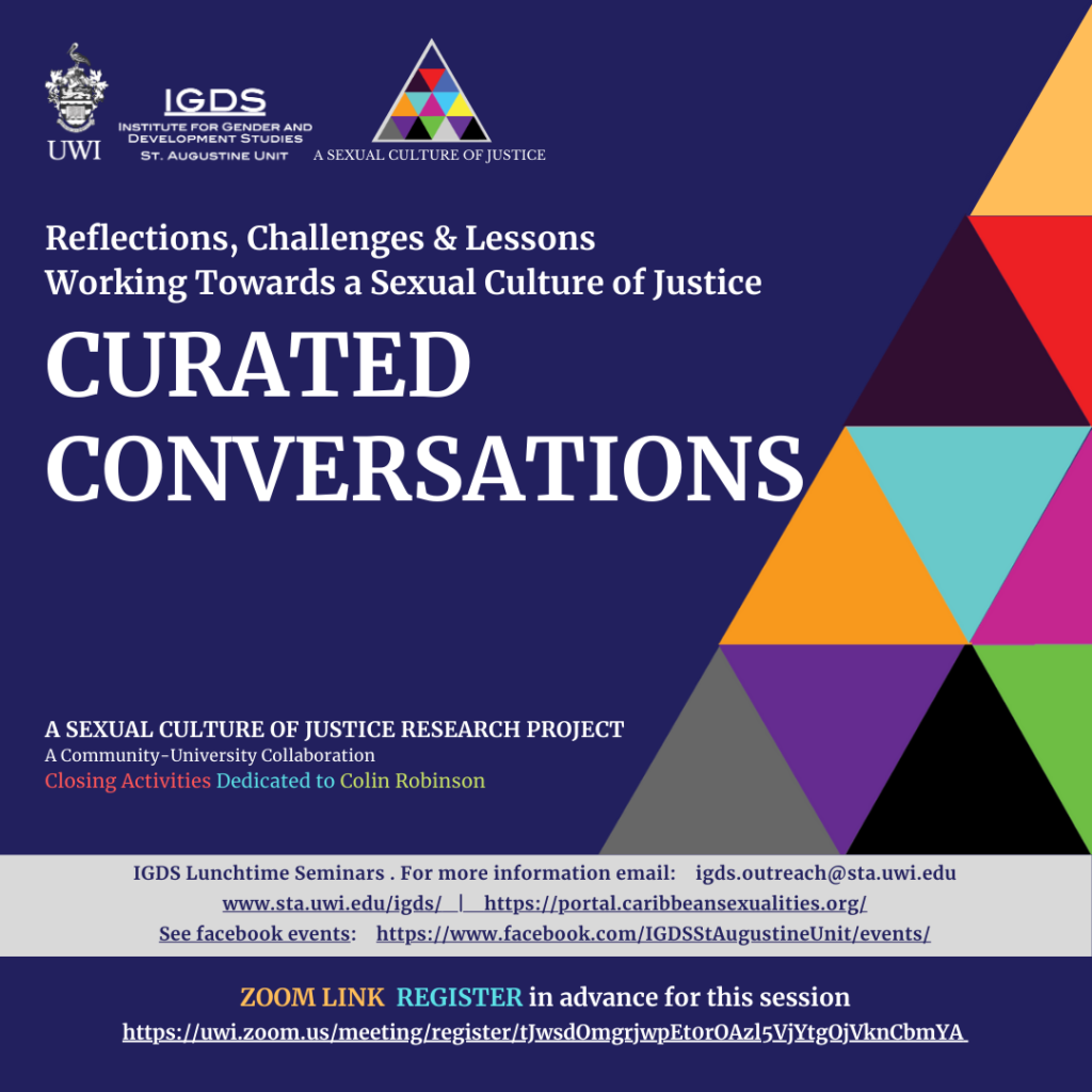 Curated Conversations: Reflections, Challenges & Lessons | Working Towards a Sexual Culture of Justice